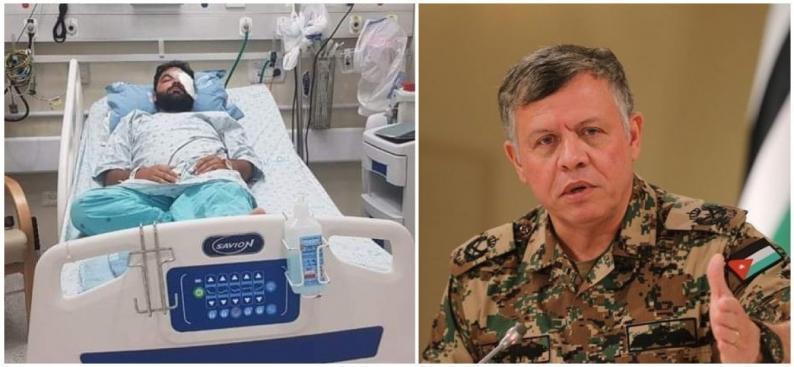 ملك الاردن يصدر تعليماته بتوفير العلاج لمعاذ عمارنه في المستشفيات الأردنية