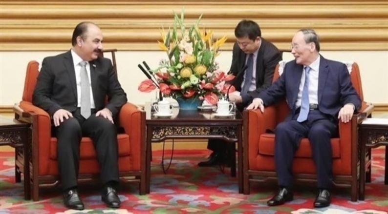 الصين تعلن استعدادها للمساعدة بإعادة الإعمار في سوريا