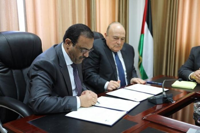 هيئة مكافحة الفساد ووزارة المالية توقعان مذكرة تعاون مشتركة