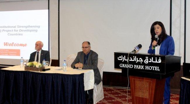 الوزيرة عودة: 3800 مواصفة فلسطينية معتمدة