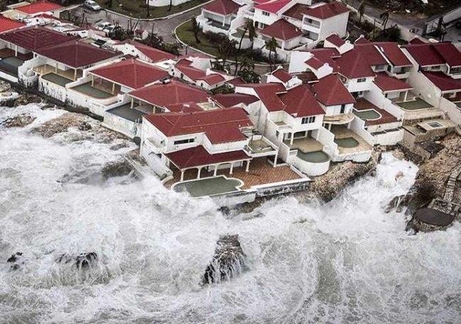 """""""ارم ذات العماد"""" هي اعصار ايرما"""