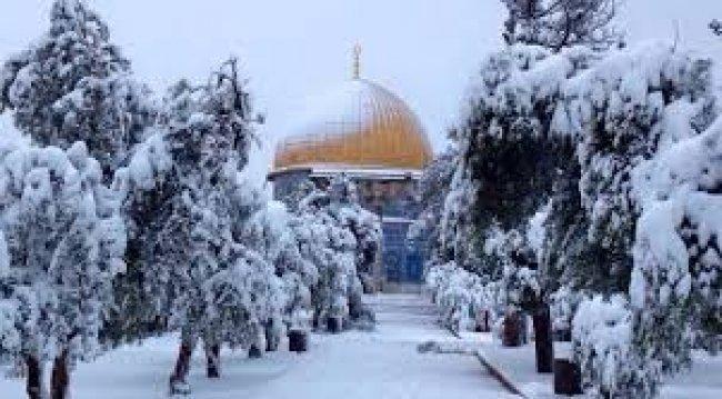 الأربعاء منخفض عميق.. الضفة ستشهد ثلوج ونصيب غزة حبيبات البرد