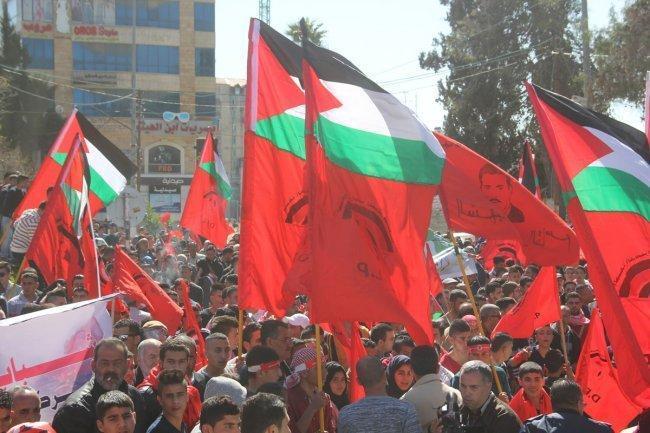 """""""الديمقراطية"""": تعطيل قرار """"الوطني"""" وإدامة العقوبات على غزة احتقار فظ للمؤسسة الوطنية"""