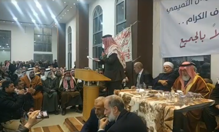 عشائر الخليل تعلن رفضها لاتفاقية سيداو