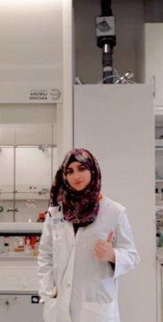 بيان خلف.. باحثة شابة تسخّر الكيمياء لتنقية المياه من المبيدات الزراعية