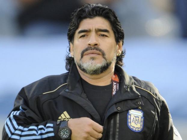 إلقاء القبض على مارادونا