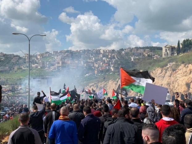 بمشاركة الآلاف.. انطلاق مظاهرة الغضب في أم الفحم