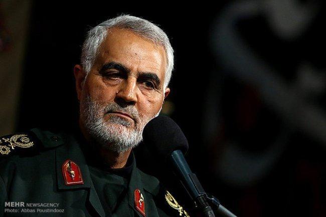 """نتيجة بحث الصور عن سليماني قائد """"فيلق القدس"""": عمليات إسرائيل الجنونية ستكون آخر تخبطاتها"""