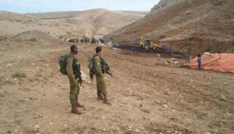الاحتلال يداهم خربة الحديدية في الأغوار