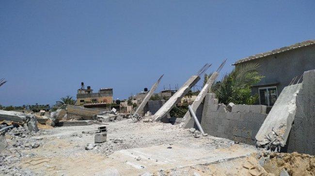 عائلة بسام دوحان تناشد هنية والسنوار عبر وطن برفع الظلم عنها بعد هدم سلطة الأراضي بغزة منزلها