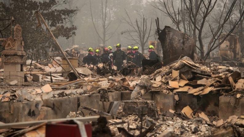 تشهد حرائق مدمرة مستمرة منذ الشهر الماضي.. ترامب يعلن ولاية أوريغون منطقة كوارث