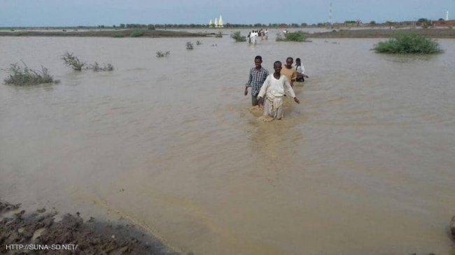 وفيات وإصابات وانهيار منازل بسبب السيول في السودان