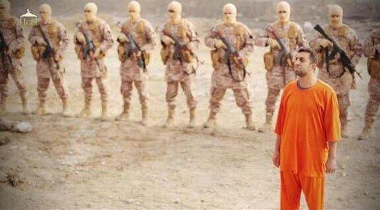 داعش لم تحرق الشهيد معاذ الكساسبة في اصدارها