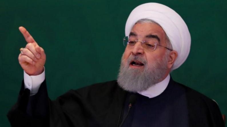 """روحاني: استهداف قاعدة """"عين الأسد"""" يعني أننا لن نستسلم أمام الولايات المتحدة"""