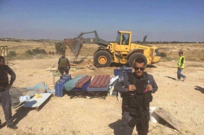للمرة الـ127.. الاحتلال يهدم قرية العراقيب