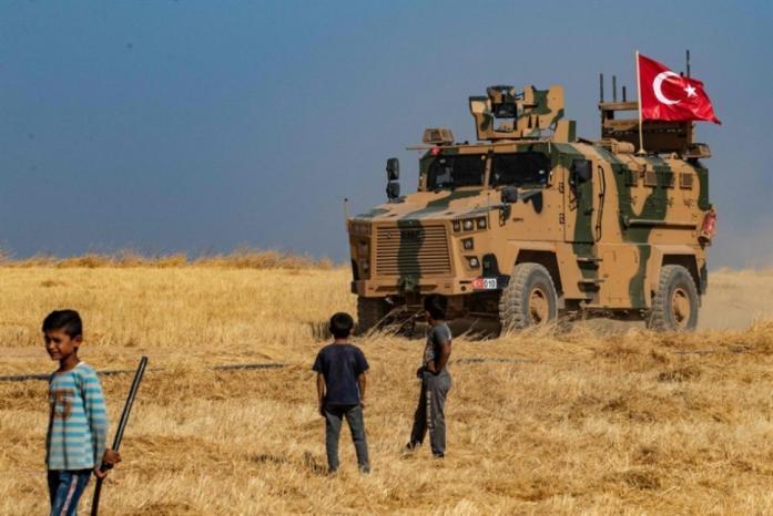 بدء العدوان التركي في سوريا