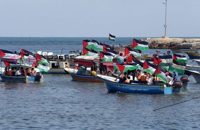 هيئة كسر الحصار: تهديدات الاحتلال بتقليص مساحة الصيد لن تثنينا