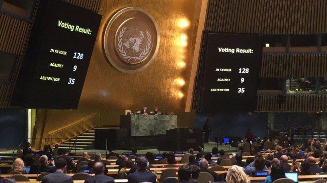الأمم المتحدة تصوت اليوم على مشروع قرار خاص بفلسطين