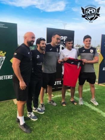 فيديو| اللاعب الفلسطيني خليل عمر إلى نادي فالنسيا الإسباني
