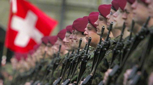 الجيش السويسري يكسب أولى المعارك منذ 170 عامًا