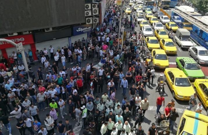 طهران تعلن اعتقال أشخاص على صلة بـ(CIA) خلال الاحتجاجات