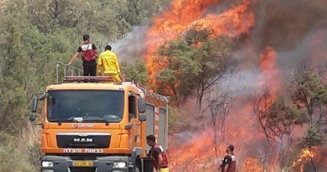 بفعل الطائرات الورقية.. حرائق ضخمة في حقول المستوطنات قرب غزة