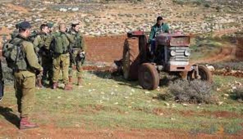 الاحتلال يستولي على أرض في بلدة تقوع شرق بيت لحم