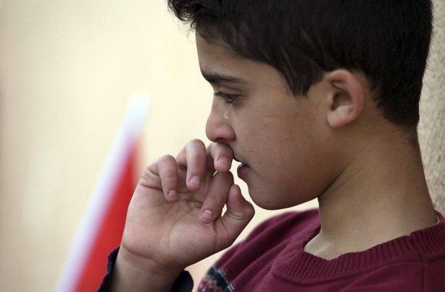 صورة من تشييع جثمان الشهيد علي قينو في نابلس