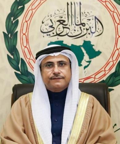 رئيس البرلمان العربي يدين امتناع سلطات الاحتلال عن تقديم لقاحات مضادة لكورونا للأسرى