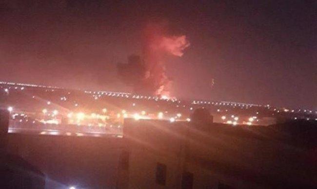 انفجار خزاني وقود قرب مطار القاهرة وتعليق الطيران جزئيا