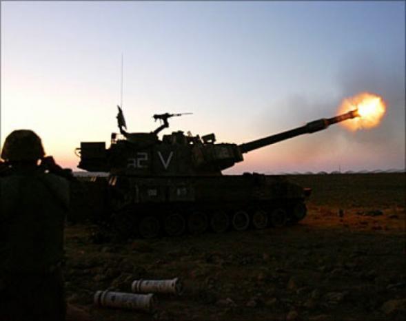 مدفعية الاحتلال تستهدف نقطة رصد للمقاومة شرق مدينة غزة