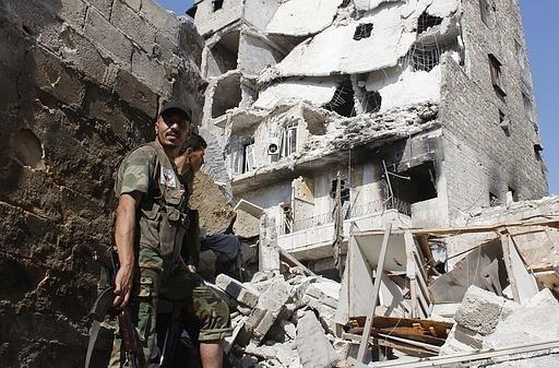 استشهاد 4 لاجئين فلسطينيين في سوريا