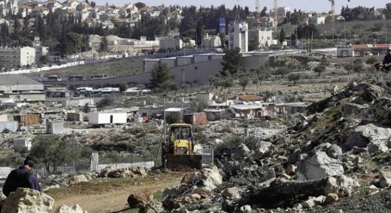 موافقة اسرائيلية على إقامة مجمع تشغيل استيطاني ضخم شرقي حي العيسوية بالقدس