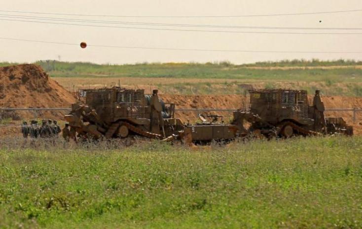 غزة: توغل لجرافات الاحتلال وإطلاق نار على المزارعين