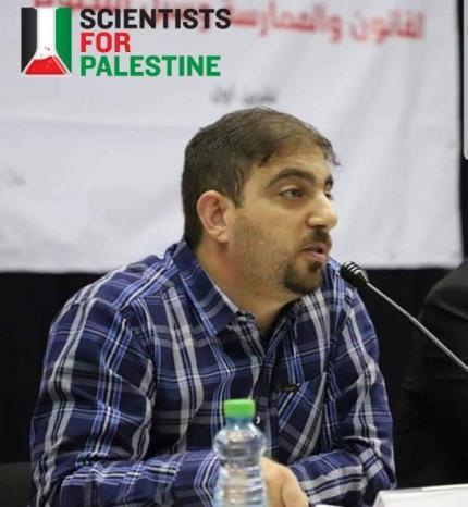 """""""علماء من أجل فلسطين"""" تطالب بالإفراج الفوري عن مدير مركز """"بيسان"""" للبحوث والإنماء أُبيّ العابودي"""