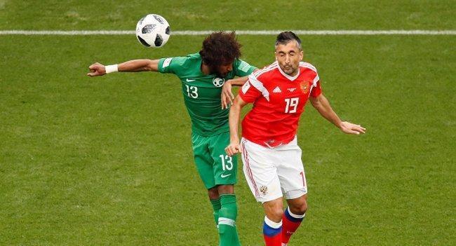 المنتخب الروسي يسجل أول هدف في مونديال 2018