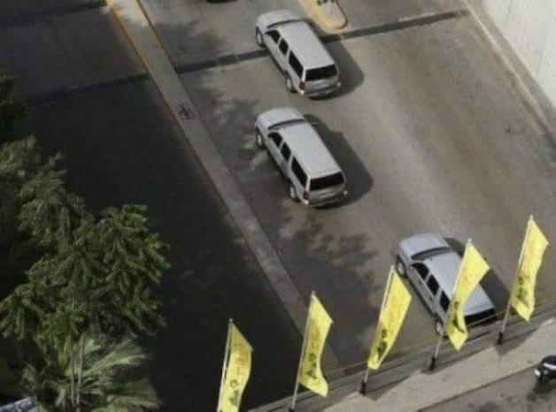 """بومبيو مرّ تحت رايات """"حزب الله"""""""