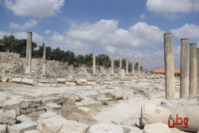 آثار سبسطية تكذّب رواية الاحتلال