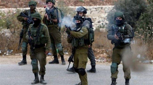 إصابات بالاختناق بغاز الاحتلال جنوب نابلس