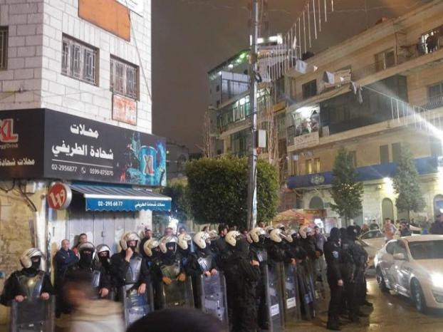بالفيديو والصور: الاعتصام ضد الضمان متواصل .. وقوات مكافحة الشغب في الميدان