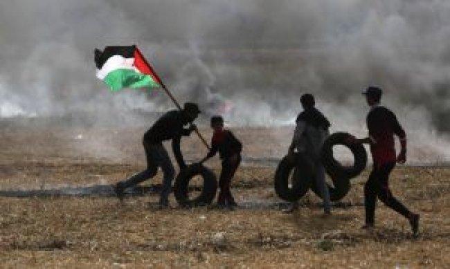 اليونيسف: إصابة أكثر من 1000 طفل منذ بدء مسيرات العودة في غزة