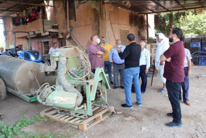 العمل الزراعي ينفذ تدريب متخصص في مجال تشغيل واستدامة الآلات الزراعية