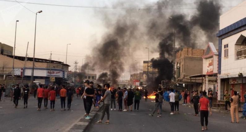 عشرات القتلى والجرحى في احتجاجات جديدة جنوب العراق
