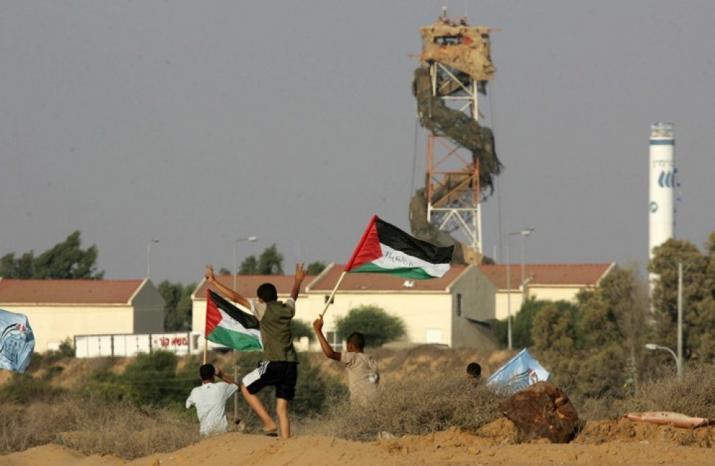 1094 انتهاكًا ارتكبها جيش الاحتلال على طول السياج الفاصل بغزة خلال 2019