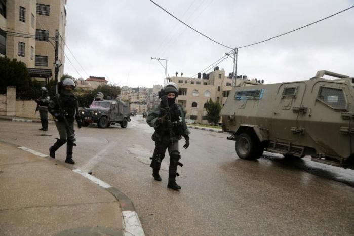 الاحتلال يقتحم تجمع وادي السيق شرق رام الله