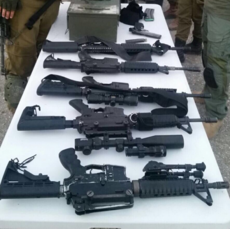 الاحتلال يزعم مصادرة اسلحة وذخيرة من نابلس الليلة الماضية