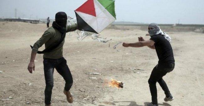 الاحتلال يزعم تطوير سلاح جديد لاسقاط اطباق غزة الورقية الحارقة