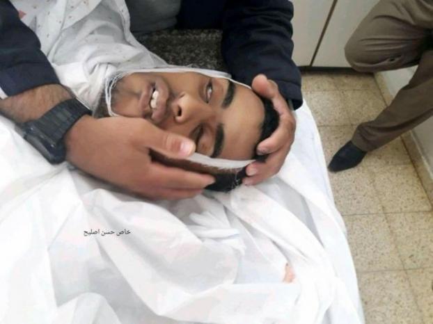 استشهاد أحمد العاصي متأثراً بإصابته