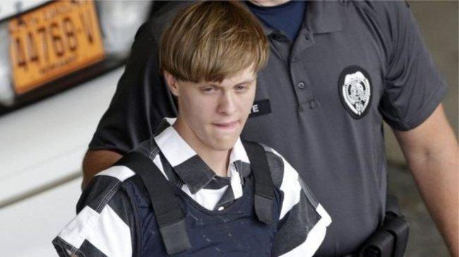 الإعدام بحق مرتكب مجزرة الكنيسة في الولايات المتحدة