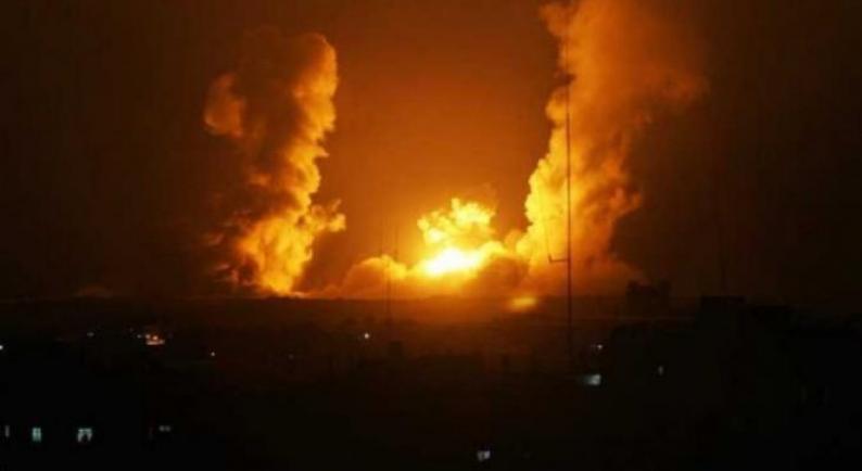 مدفعية الاحتلال تستهدف أرضا زراعية شرق مدينة غزة